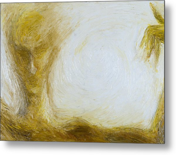 Grace Of Line Metal Print by Cahl Schroedl