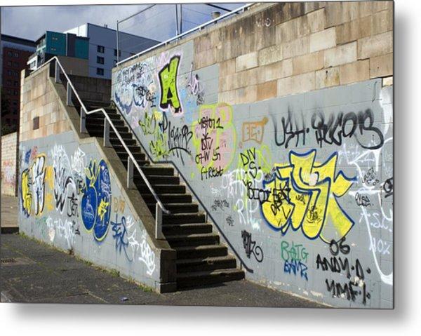 Graffiti Metal Print by Mark Williamson