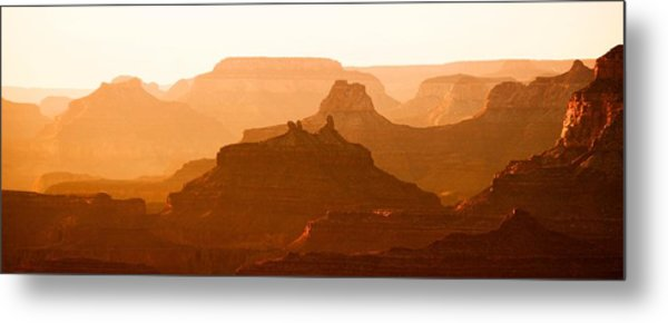 Grand Canyon At Dusk Metal Print by C Thomas Willard