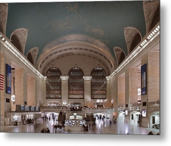Grand Central Station The Main Metal Print by Everett