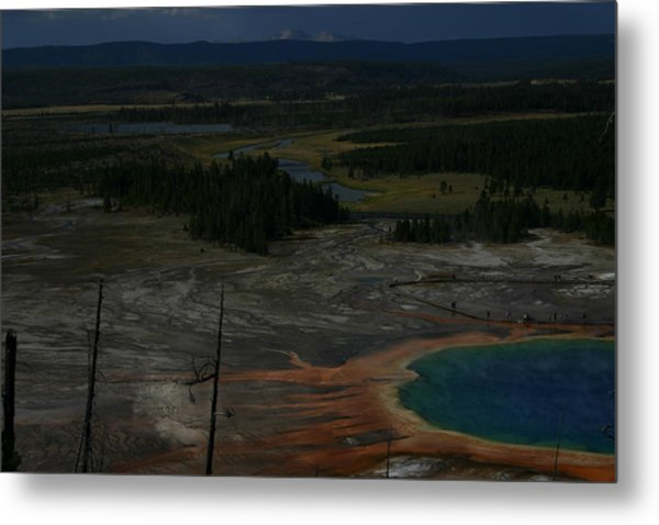Grand Prismatic Spring Yellowstone National Park Metal Print