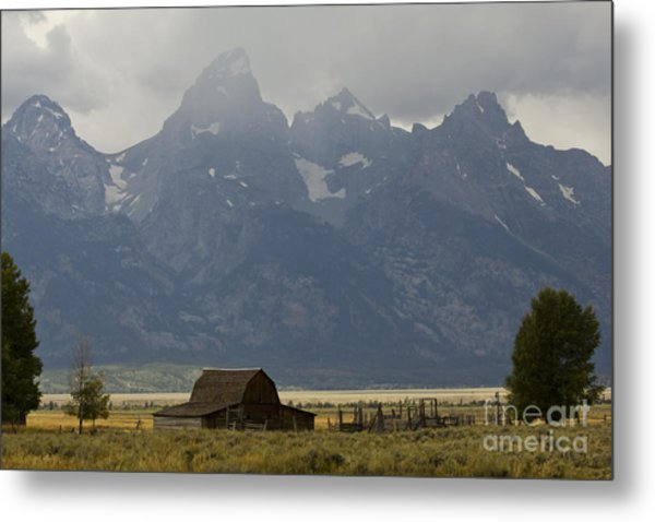 Grand Tetons Jackson Wyoming Metal Print