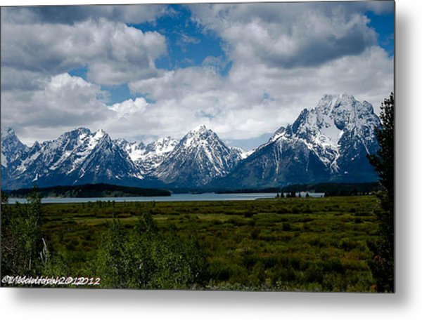 Grand Tetons Metal Print by Lauren MacIntosh