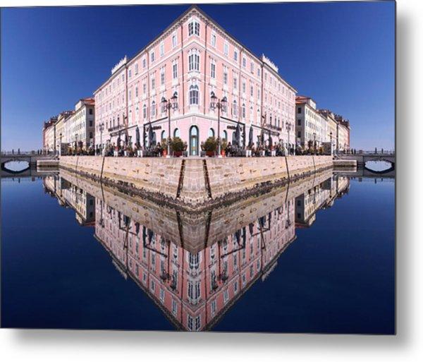 Grande Canal Trieste Metal Print