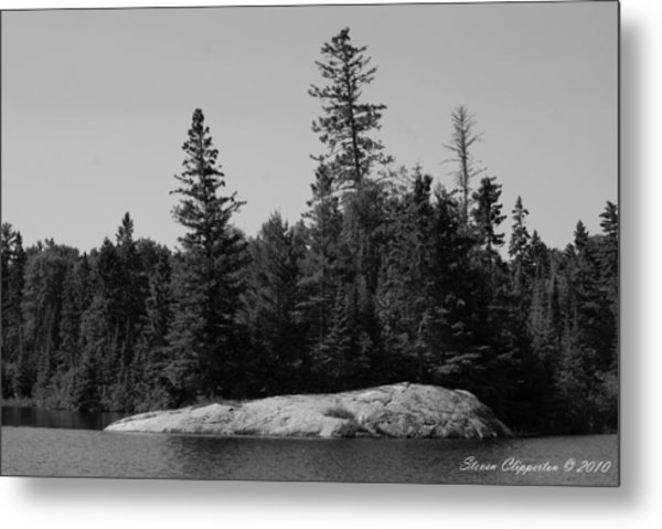 Grandpa's Point Metal Print