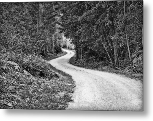 Gravel Road Metal Print