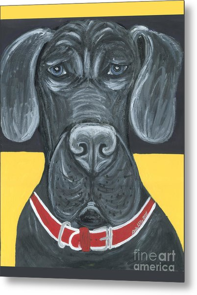 Great Dane Poster Metal Print