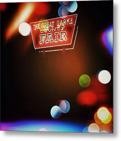 Great Darke County Fair Metal Print