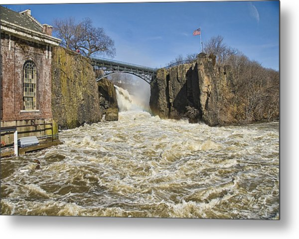 Great Falls Of Paterson    Metal Print