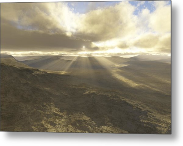 Great Valley Metal Print