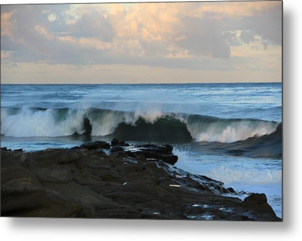 Great Waves Metal Print