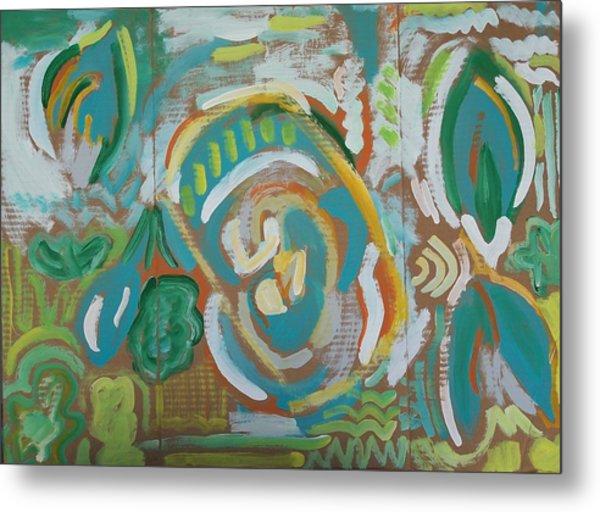 Green Metal Print by Jay Manne-Crusoe