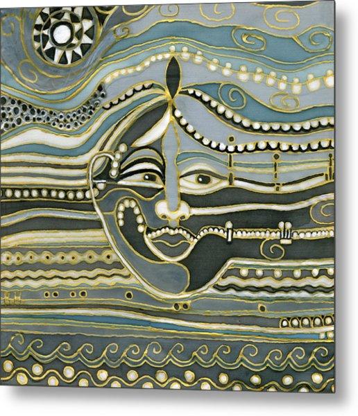 Green Maya Metal Print