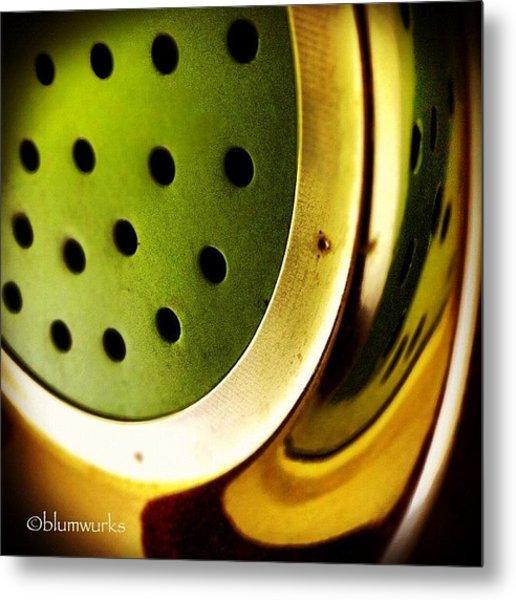 Green Rinse Metal Print