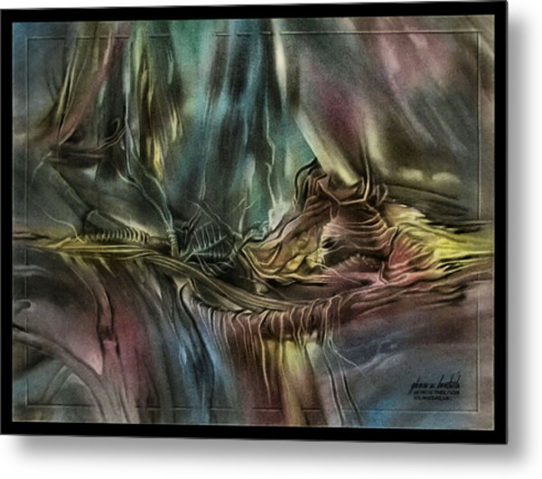 Greenleaves Turn To Brown 2009 Metal Print