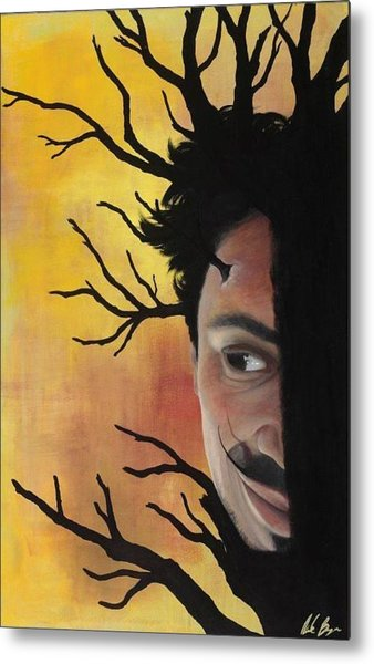 Growth Of A Man Metal Print by Nicole Williams