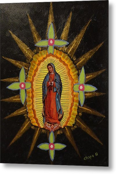 Guadalupe Metal Print by Manny Chapa