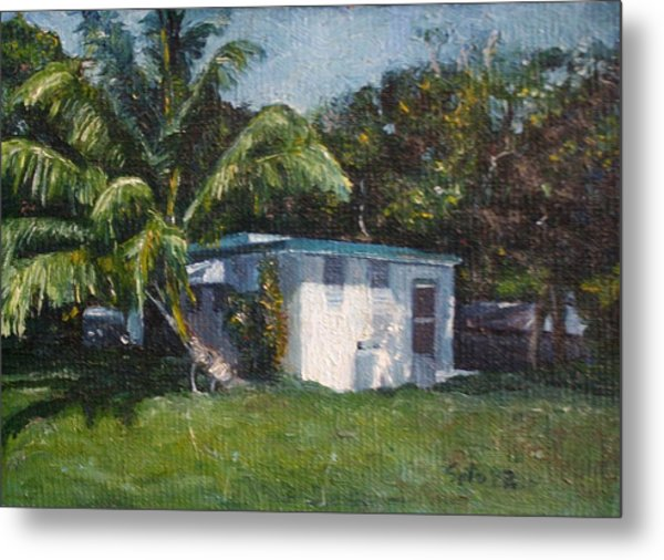 Guest House In Aguada Metal Print by Victor SOTO