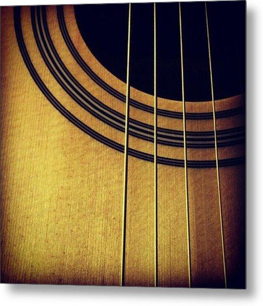 #guitar #music #random #pretty Metal Print