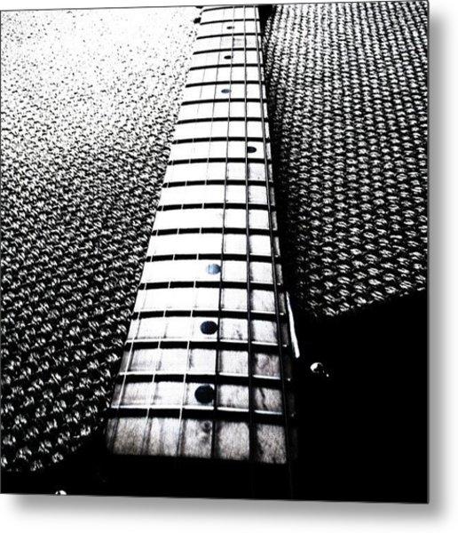#guitar #neck #fender #telecaster Metal Print