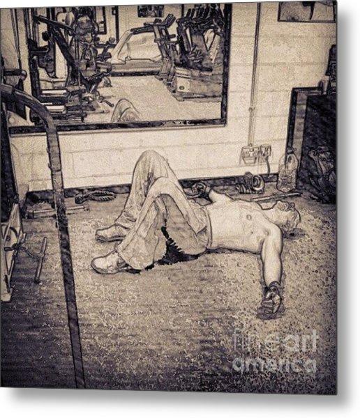 #gym #sport #relax #1stangel Metal Print