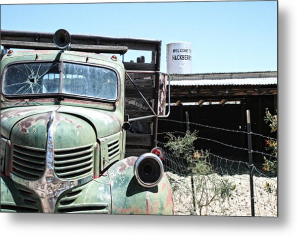 Hackberry Arizona Route 66 Metal Print