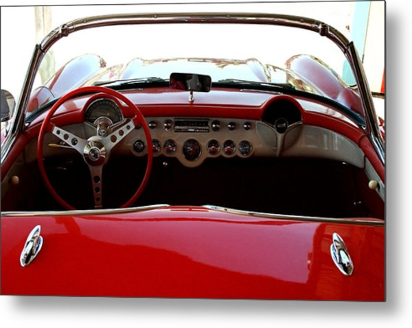 Hackberry Corvette Metal Print