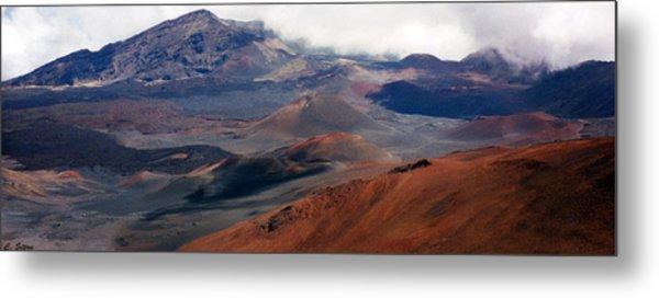 Haleakala Volcano Metal Print