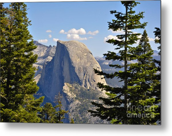 Half Dome Metal Print by Camille Lyver
