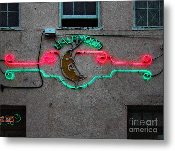Half Moon Bar New Orleans Metal Print