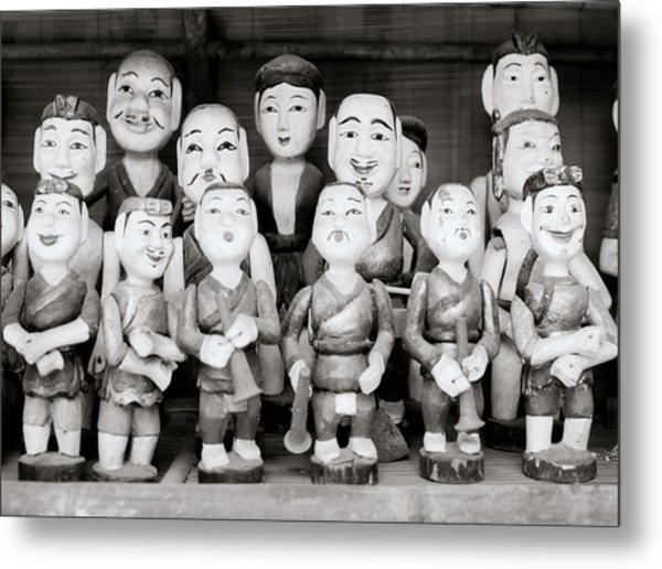 Hanoi Water Puppets Metal Print