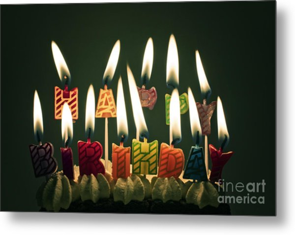 Happy Birthday Metal Print by Catherine MacBride