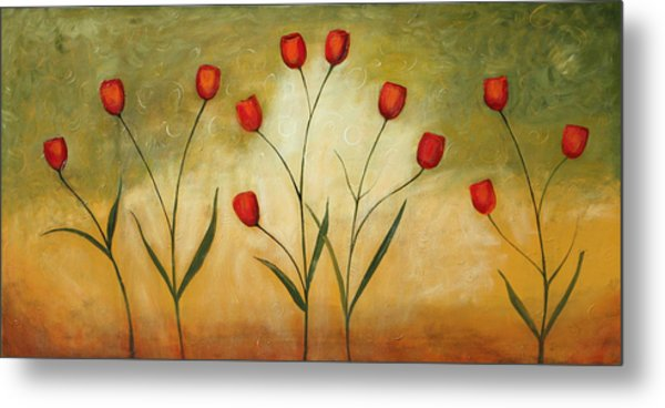 Happytulips Metal Print