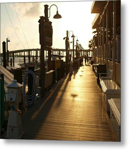 Harbor Walk Destin Florida Metal Print