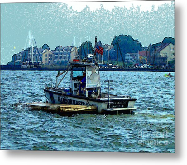 Harbormaster Metal Print