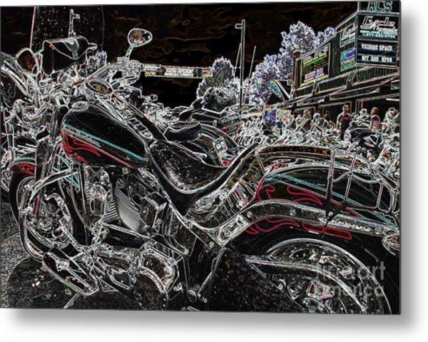 Harley Davidson Style 3 Metal Print