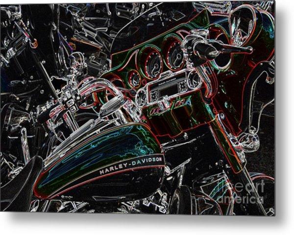 Harley Davidson Style 4 Metal Print