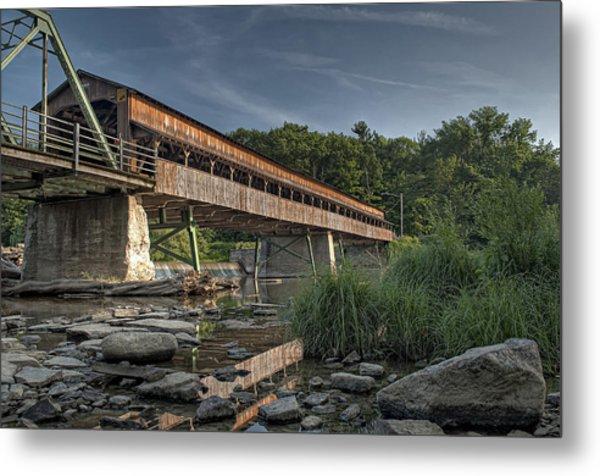 Harpersfield Road Bridge Metal Print