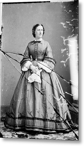 Harriet Lane, Niece Of  James Buchanan Metal Print by Everett