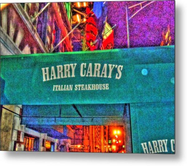Harry Caray's Metal Print by Barry R Jones Jr