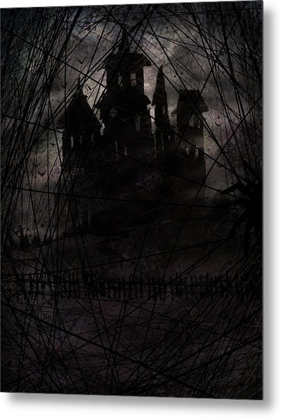 Haunted Metal Print