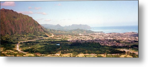 Hawaii Overlook Metal Print