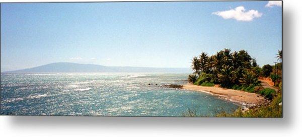 Hawaiian Coastal View Metal Print