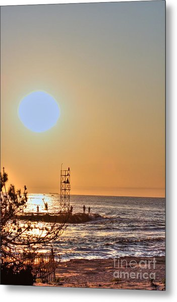 Hdr Seaview Oceanview Beach Beaches Ocean Sea Photos Pictures Photography Photo Pics Pictures Summer Metal Print by Pictures HDR