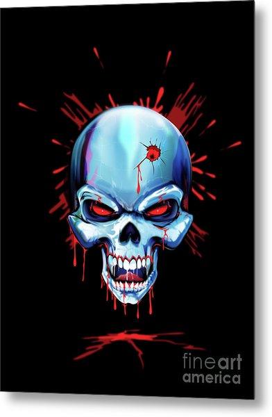 Head Shot Metal Print by Brian Gibbs