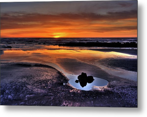 Heart Of The Central Coast Metal Print