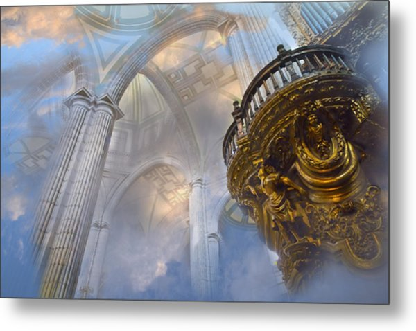 Heavenly Cathedral Metal Print
