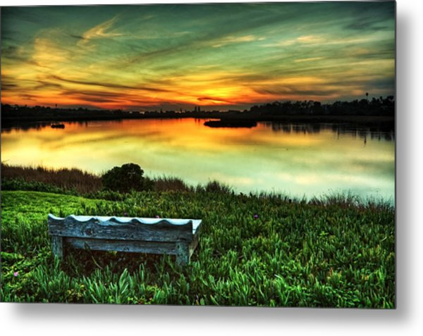Heavenly Metal Print by Donna Pagakis