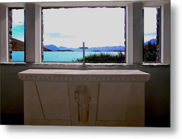 Heavenly View Metal Print