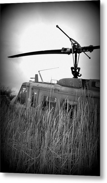 Helicopter Of War Metal Print